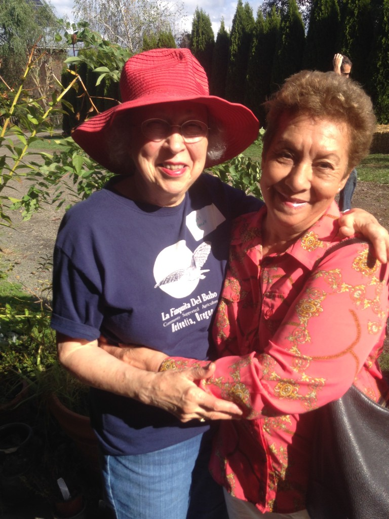 Mom and Josefina Harvest festival 2014